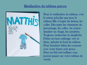 tableau prénom Matthis