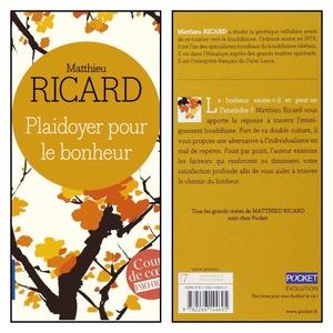 Livre Matthieu Ricard