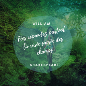 Citation fées, William Shakespeare