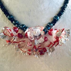 Création d'un collier avec des papillotes