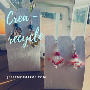 Créer des bijoux avec des papiers de chocolats