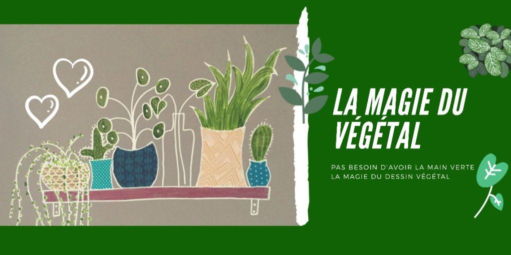 Peindre du végétal